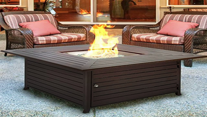 Best Outdoor Fire Pit - Extruded Aluminum Gas Outdoor Fire Pit