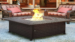 BCP Extruded Aluminum Gas Outdoor Fire Pit Table