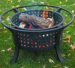 "Walden Backyards – The Kindred Backyard Fire Pit Round 30"" Diameter"