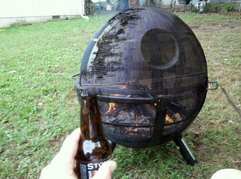 Death Star DIY Fire Pit