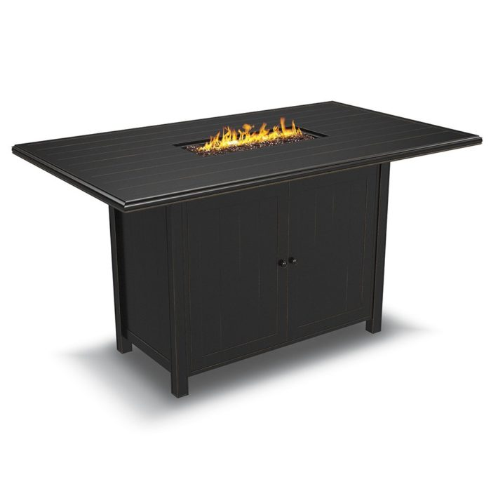 Unforgettable Bar Height Fire Pit Table Sets